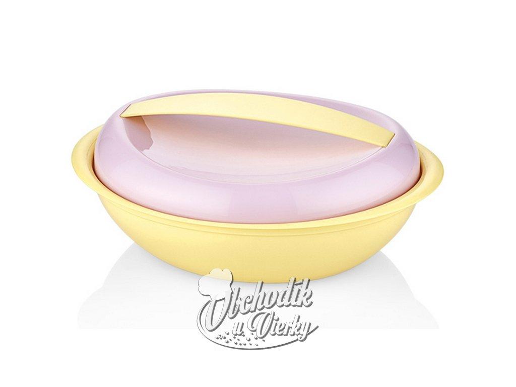 Plastová nádoba s pokrievkou 0,9 l