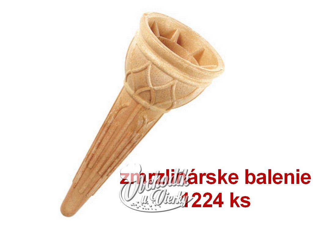 Kornútok zmrzlinový veľké balenie 1224 ks,