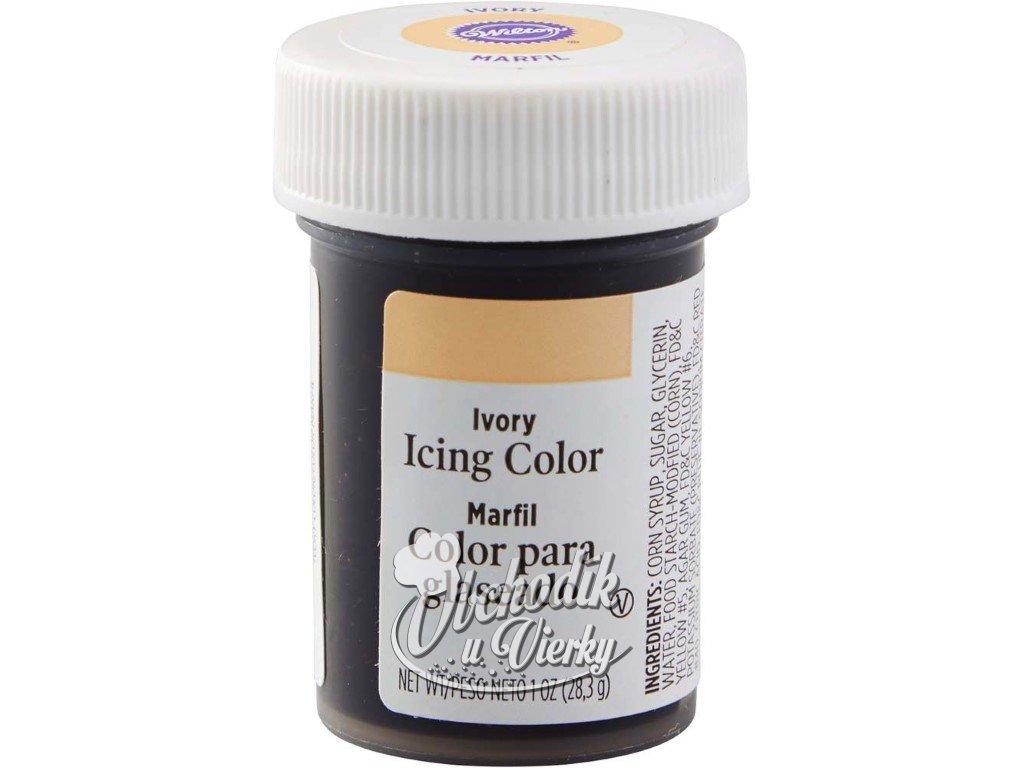 Jedlá farba WILTON gélová Ivory slonovinová