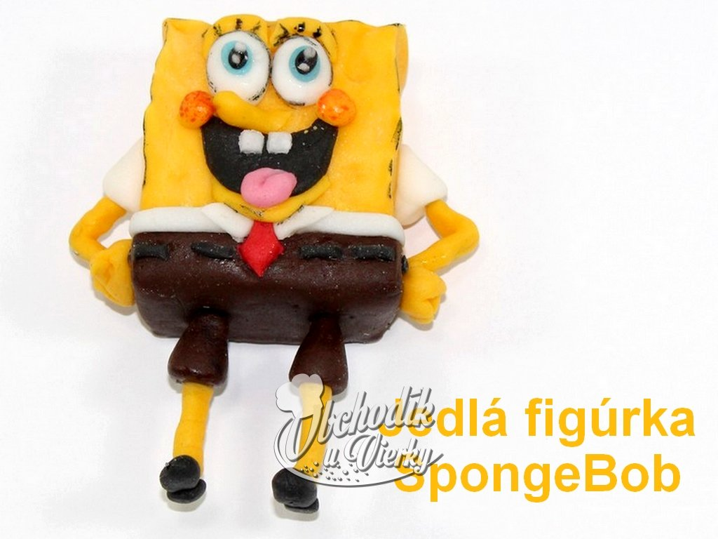 Jedlá figúrka SpongeBob
