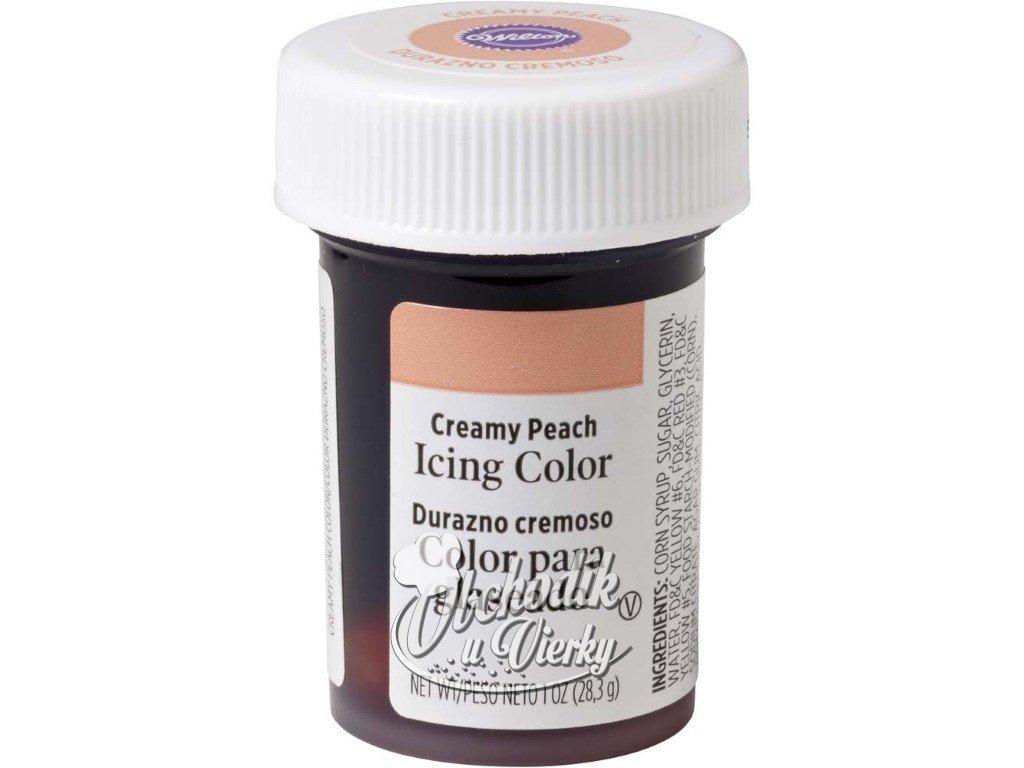 Jedlá farba WILTON gélová Creamy Peach Krémová broskyňa