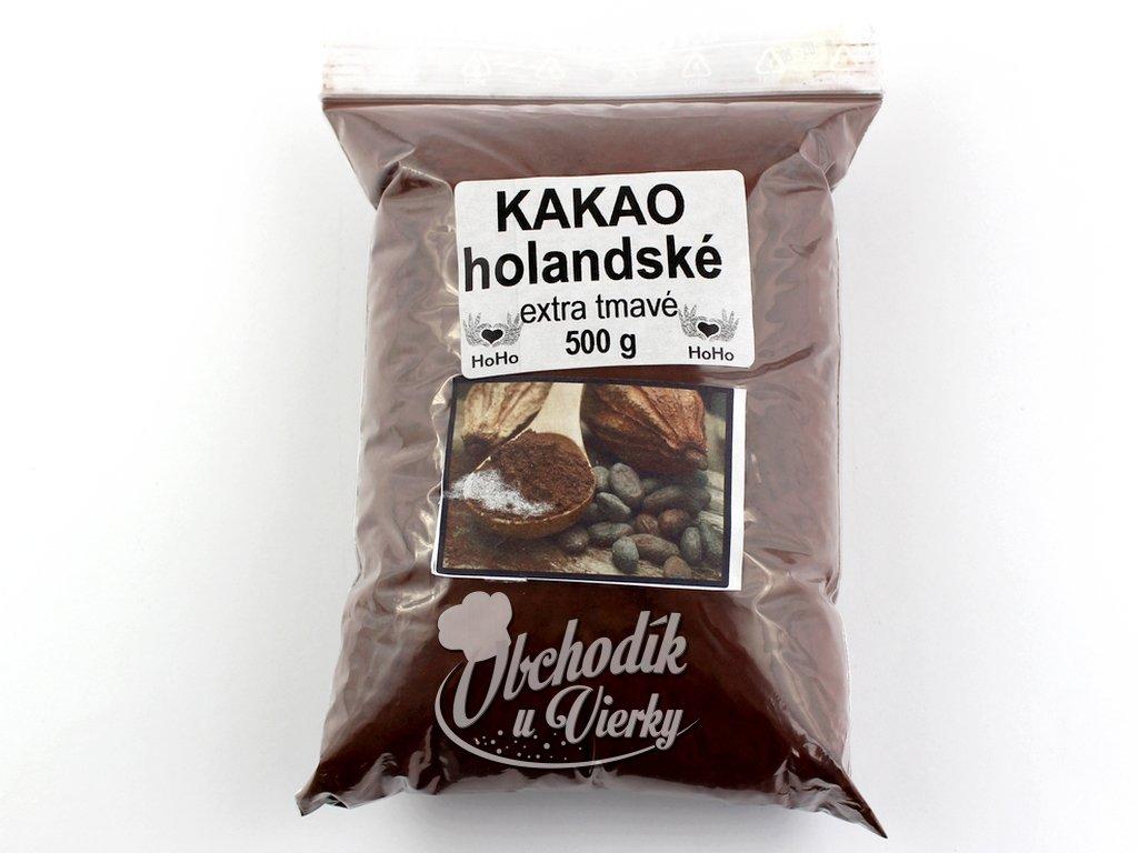 KAKAO holandské extra tmavé 500g HoHo