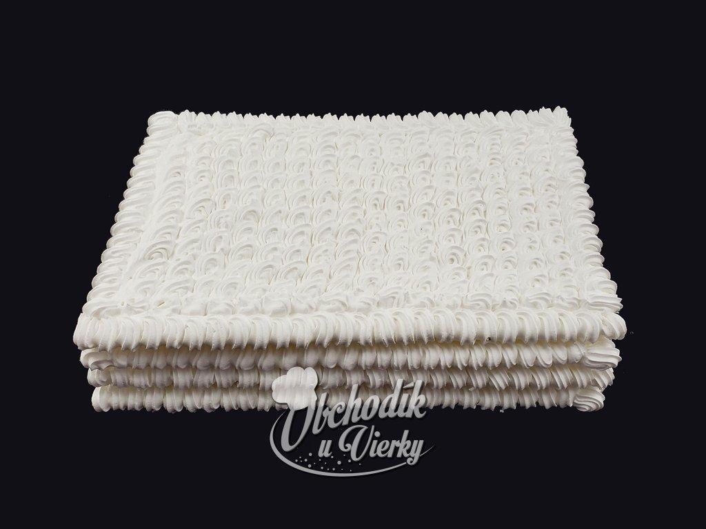 Penové tortové pláty OBDĹŽNIK 20x30 cm (4 ks)
