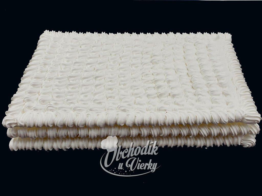 Penové tortové pláty OBDĹŽNIK 30x40 cm (3 ks)