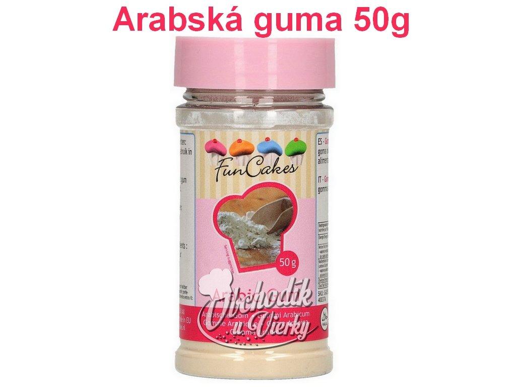 Arabská guma 50g