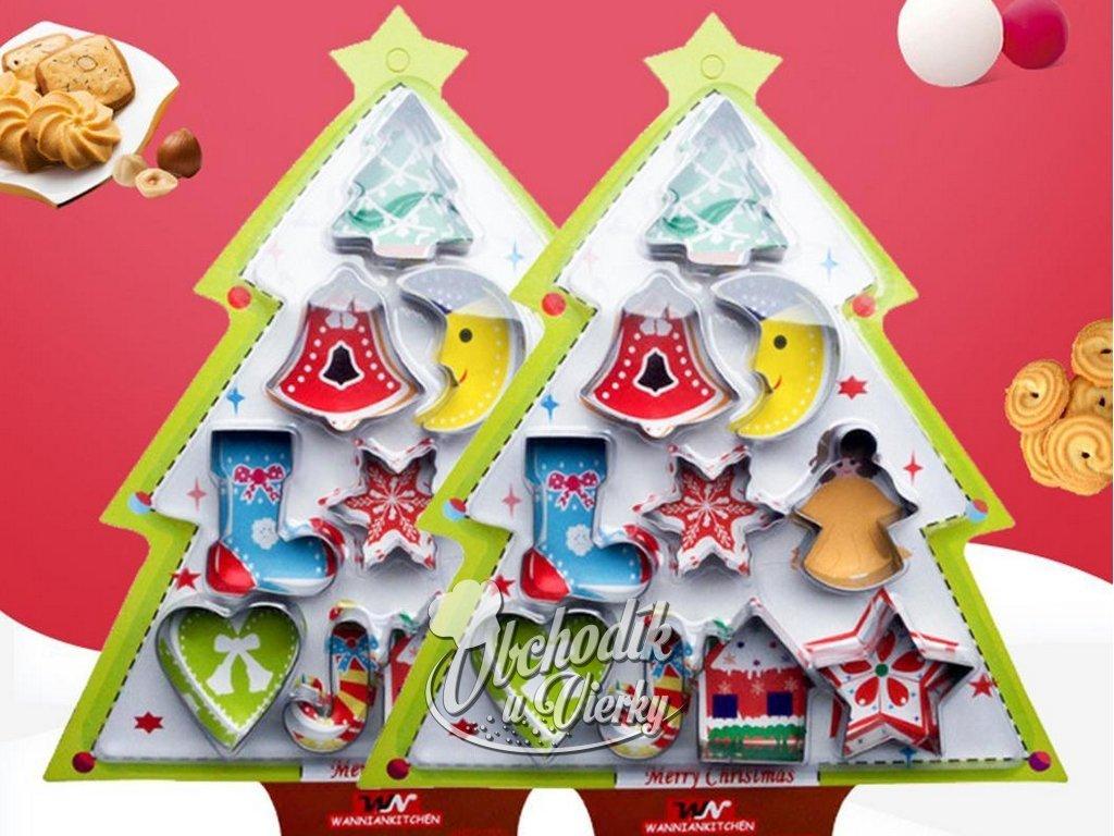 Vianočné vykrajovačky 10 ks (darčekové balenie) 1