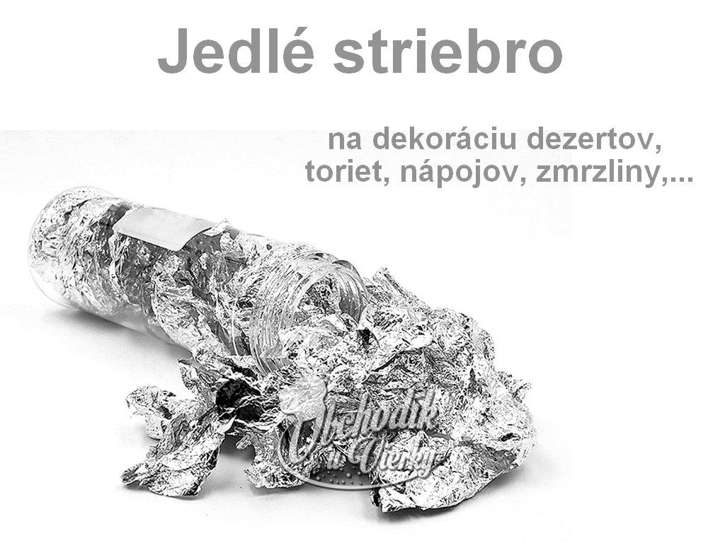 Jedlé striebro 2g 1