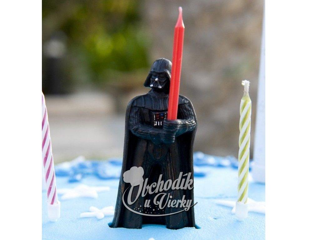 Sviečka STAR WARS Darth Vader a svetelný meč 1