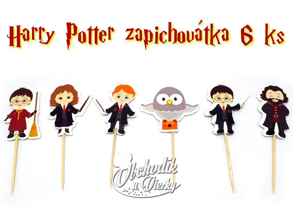 Harry Potter zapichovátka 6 ks