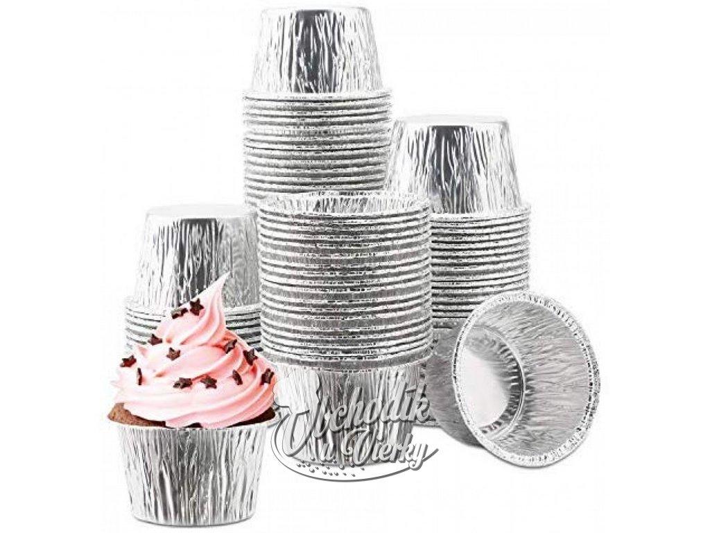 Alobalové košíčky na muffiny 20 ks