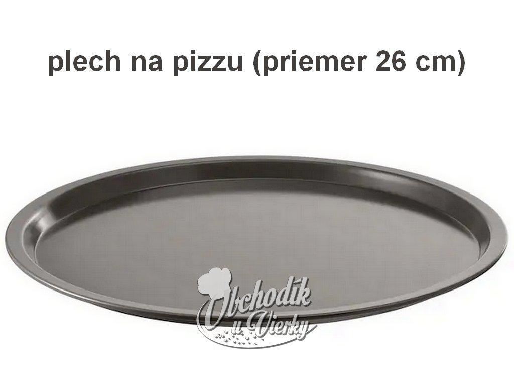 Plech na pizzu O 26 cm
