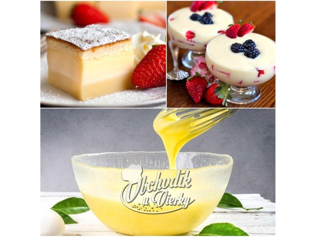 Rýchly a chutný vanilkový puding bez varenia 500g