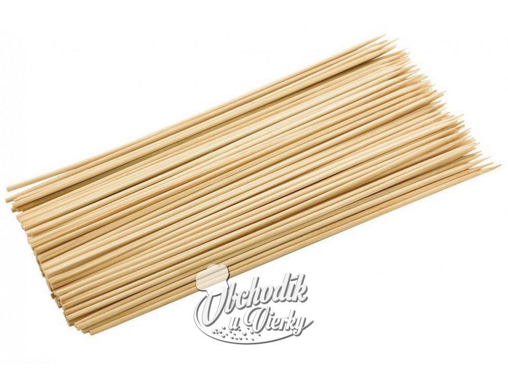 Bambusové špajdle tenké 30 cm 90 ks