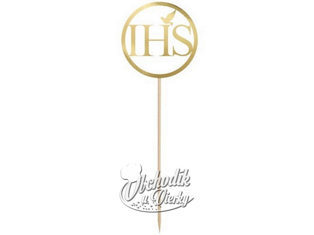 IHS JHS zapichovátko zlaté 22 cm
