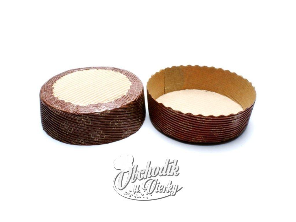 Papierová forma na pečenie okrúhla ø 12 cm