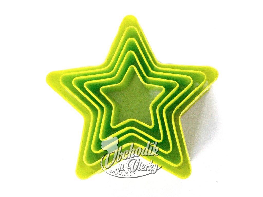 1604 Vykrajovač hviezda 5 ks