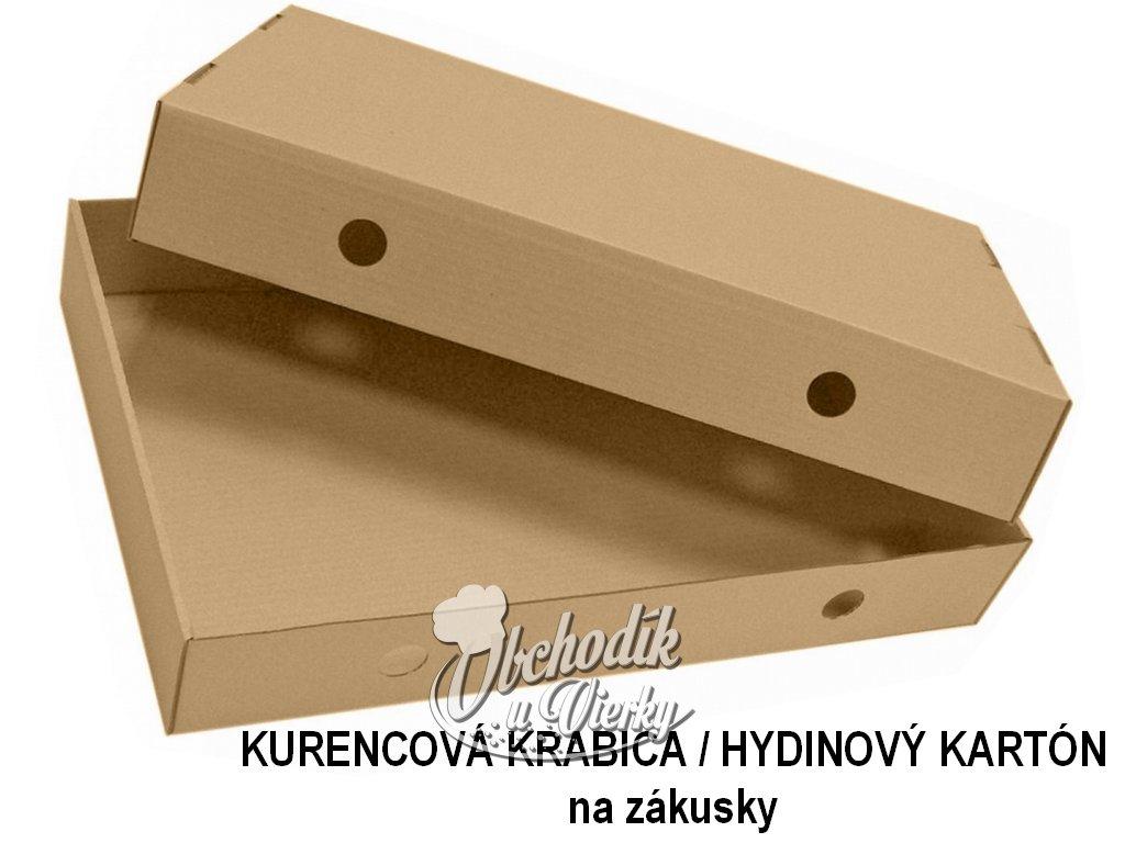 Krabica kartónová hnedá veľká dvojdielna 57x39x9 cm (444) kurencová 2