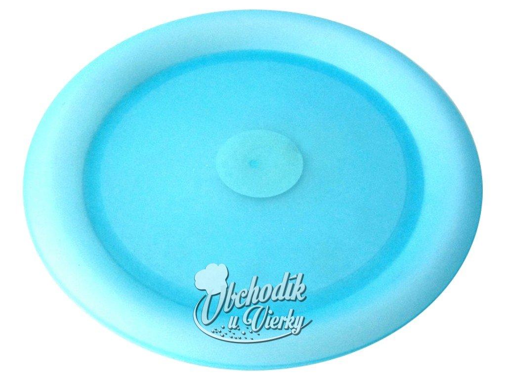 Plastový tanier modrý priemer 25 cm