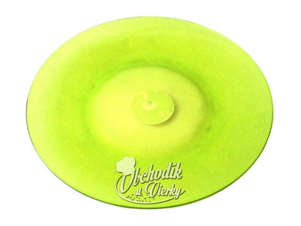 Plastový tanier zelený priemer 26,5 cm
