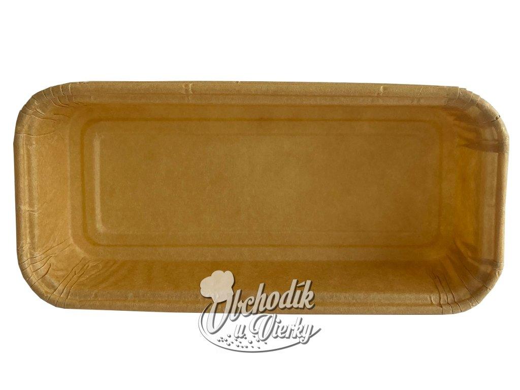 KOŠÍČEK MINI obdĺžnikový - papierová forma na pečenie 10,5x4/2 cm
