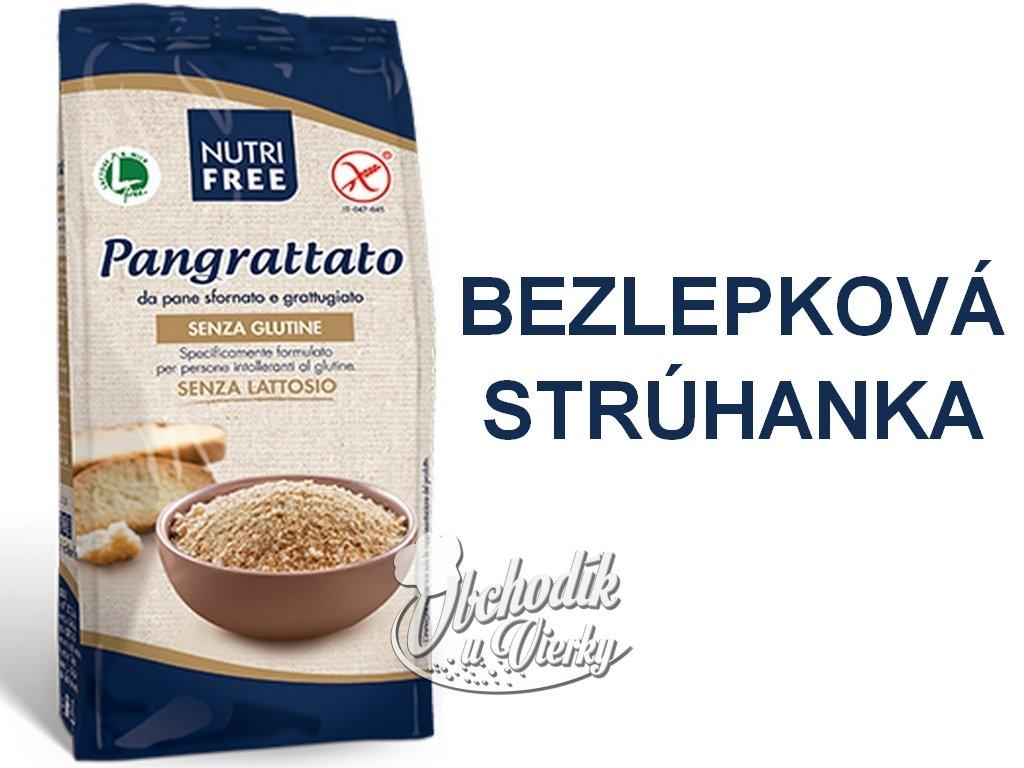 Bezlepková strúhanka Pangrattato NUTRI FREE 500g