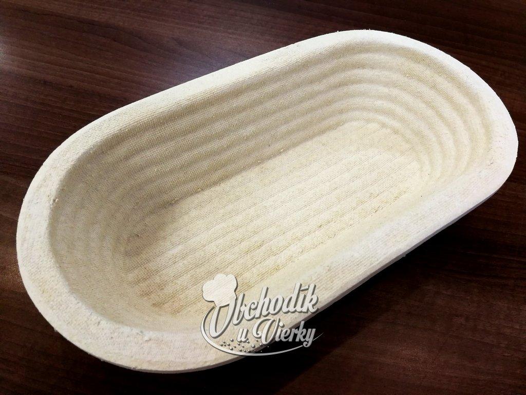 Ošatka na chlieb oválna vrúbkovaná 1000g 1 kg