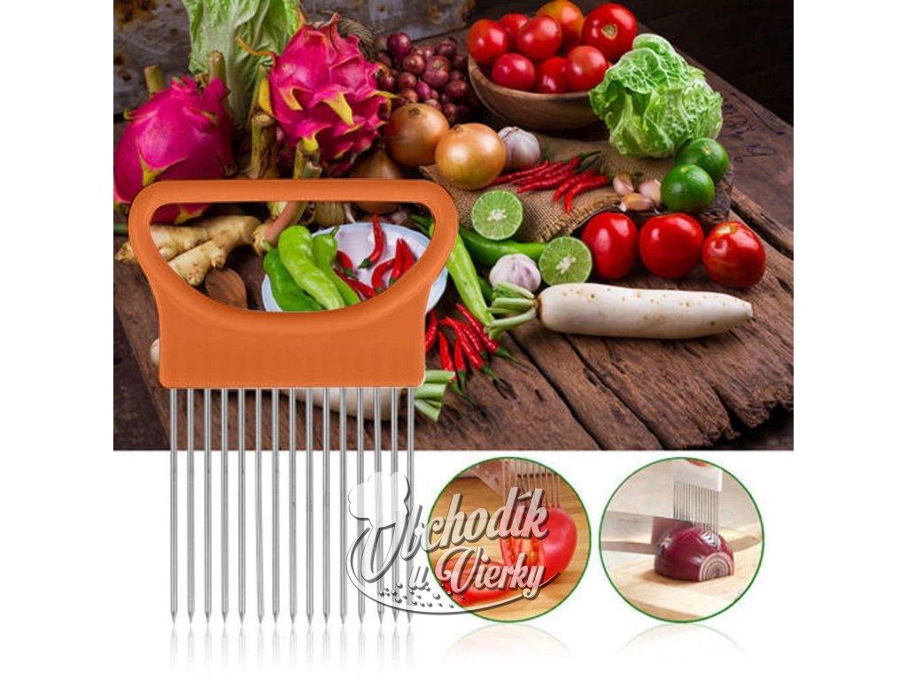 Držiak na cibuľu, paradajky a inú zeleninu 6