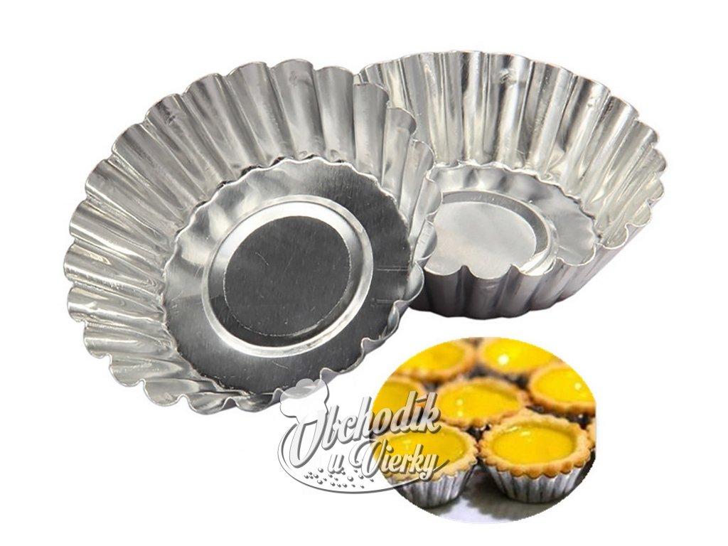 Formičky na pečenie tartaletiek a košíčkov 10 ks