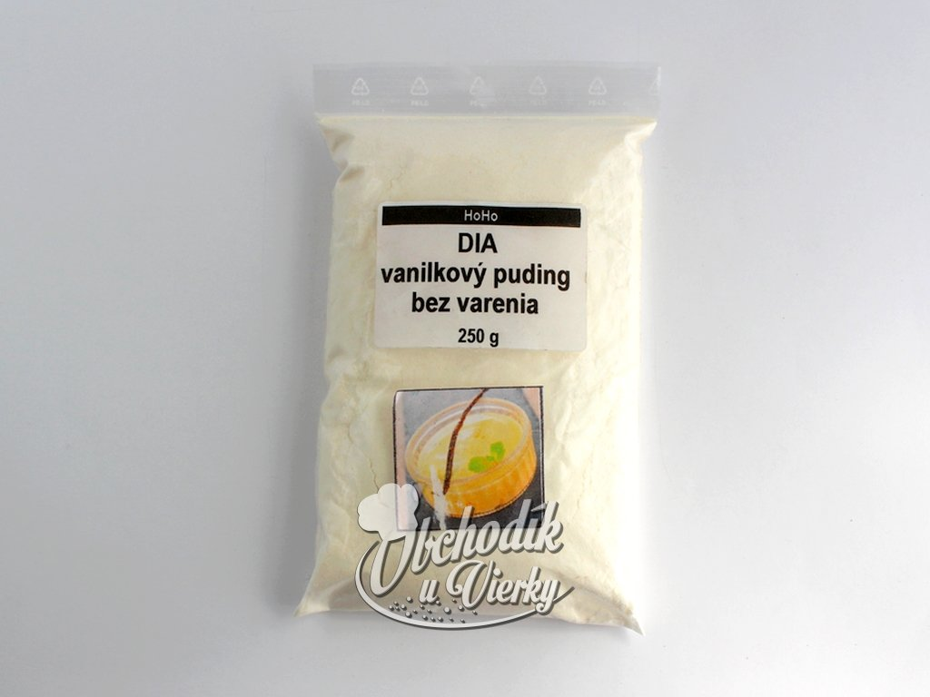 DIA vanilkový puding bez varenia 250g HoHo