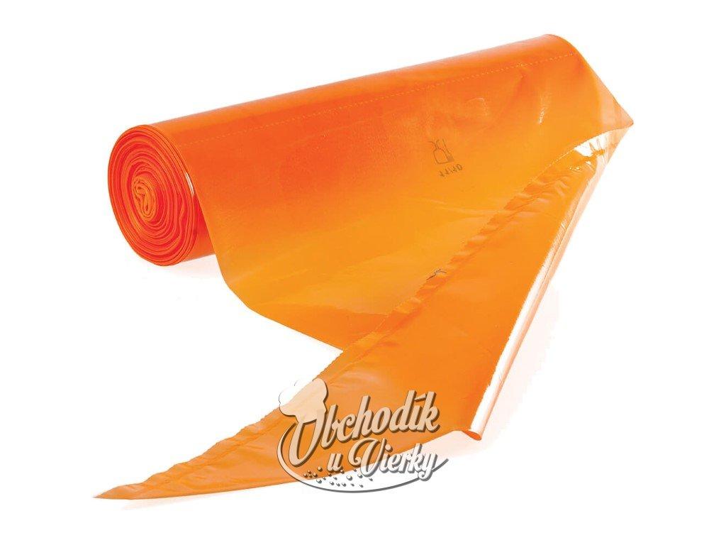 10 ks Cukrárenské vrecko jednorazové oranžové 30 a 55 cm (Custom)