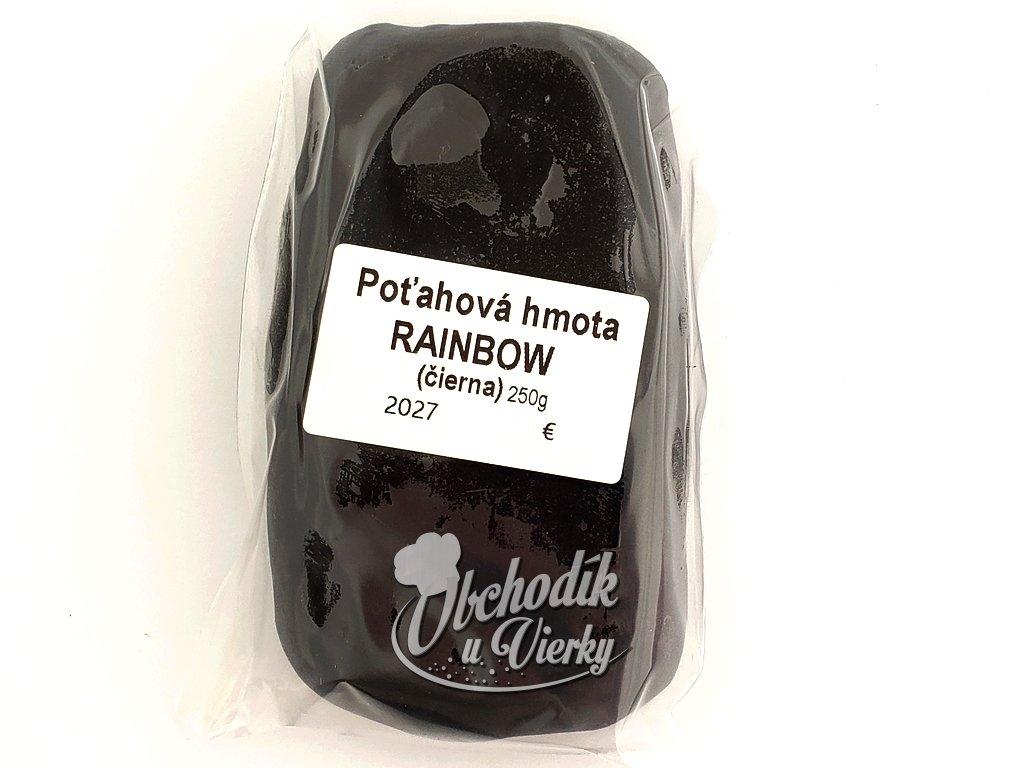 Cukrárska poťahová hmota čierna Rainbow 250g