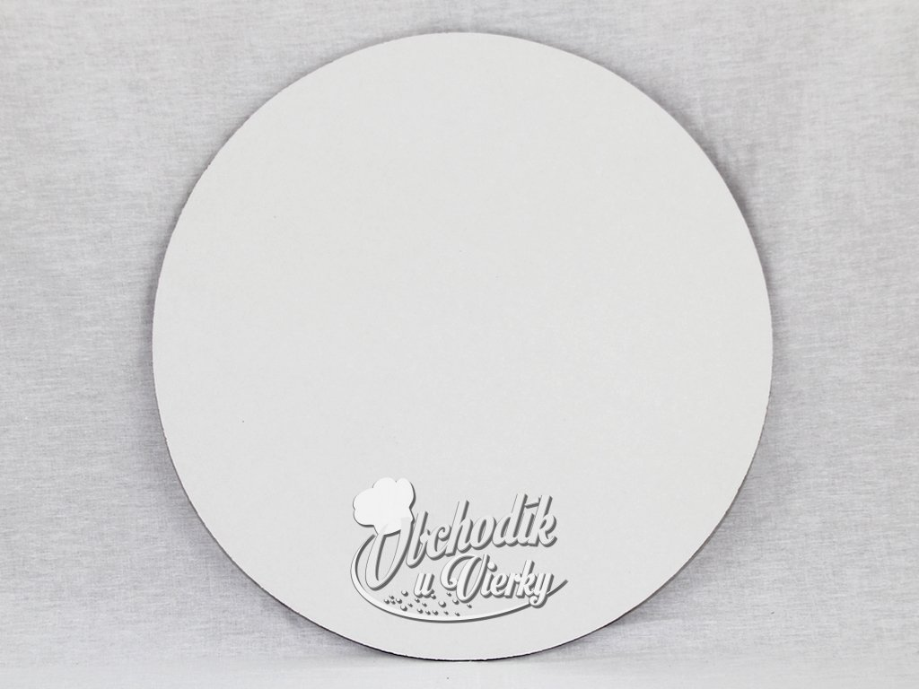 Podložka pod tortu biela kruhová (kartón) 35 cm 1