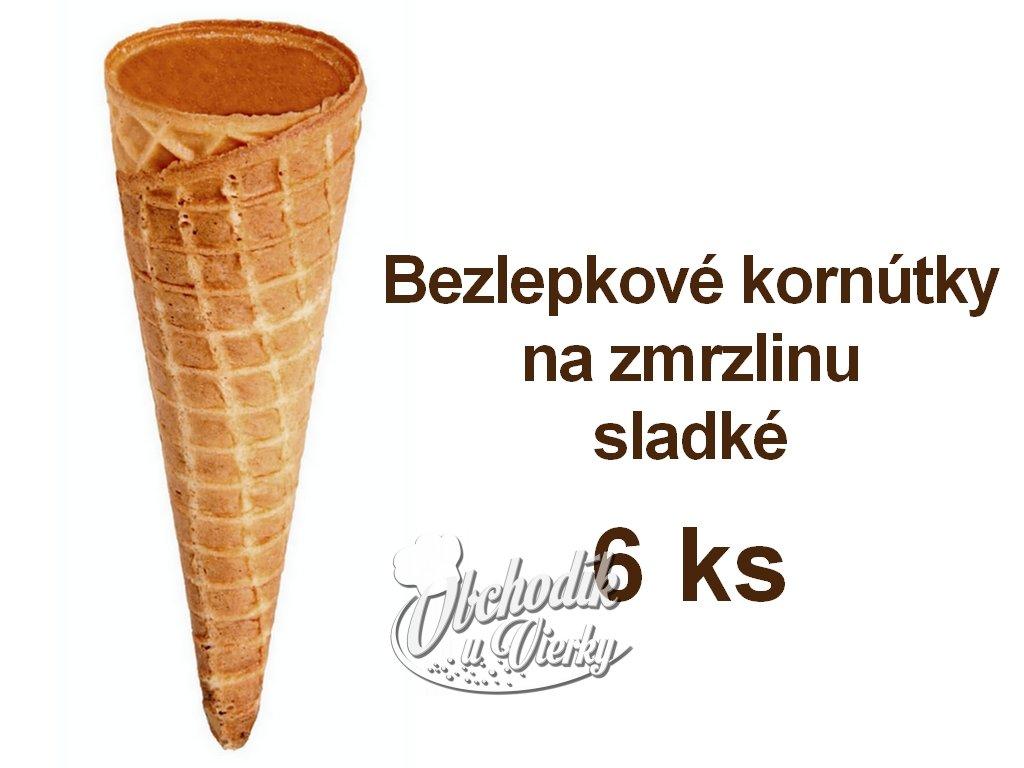 gluten free sladké kornútky Cones B