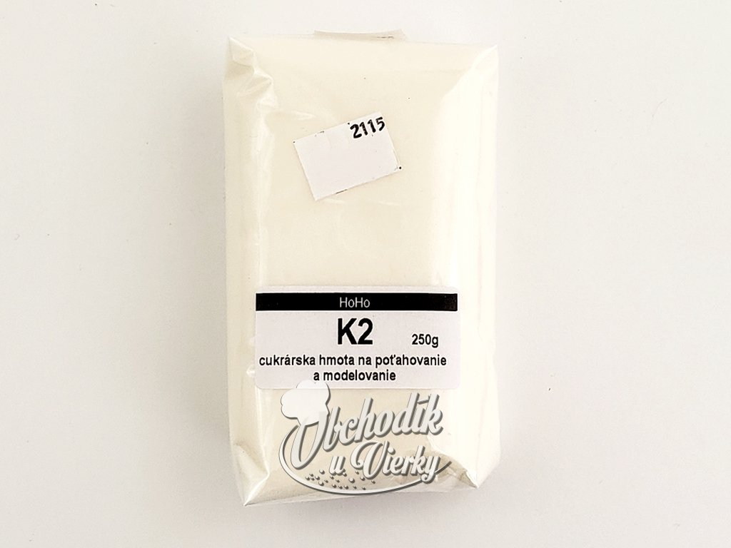 K2 Cukrárska hmota potahová a modelovacia 250g
