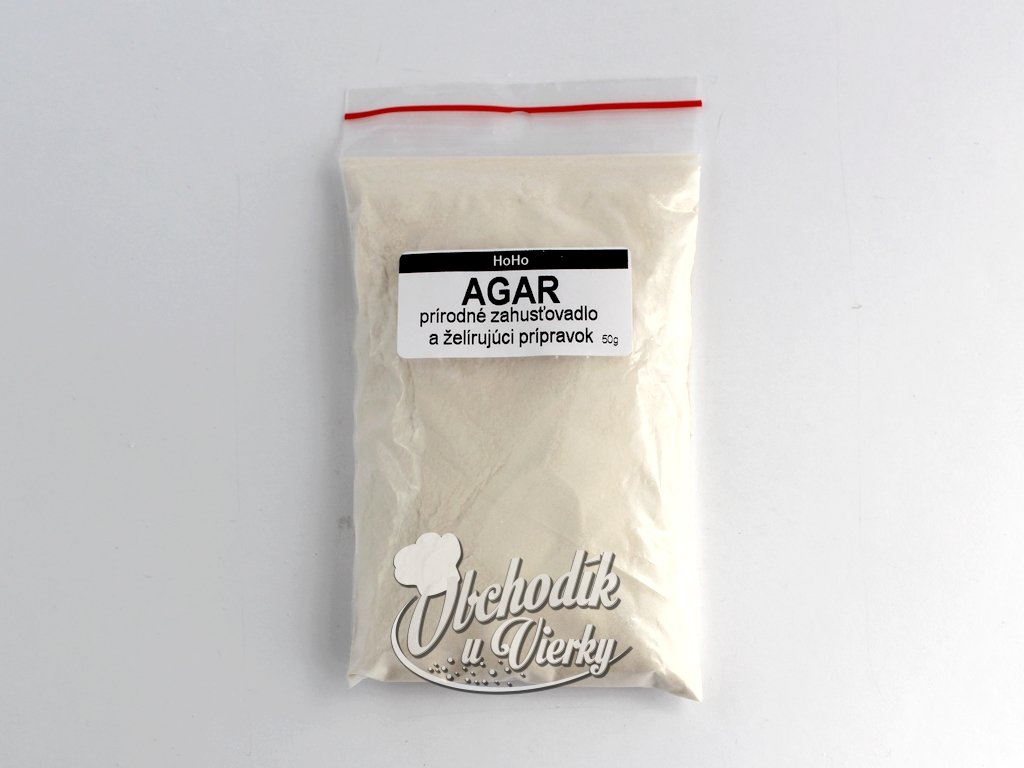 AGAR MORSKÁ RIASA (prírodné zahusťovadlo a želírujúci prípravok) 50g HoHo