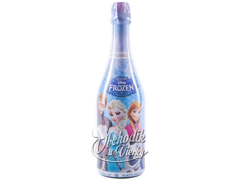 Detský šampus FROZEN s jablkovou štavou 750 ml