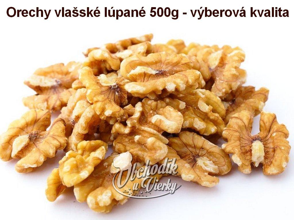 Orechy vlašské lúpané 500 g výberová kvalita HoHo