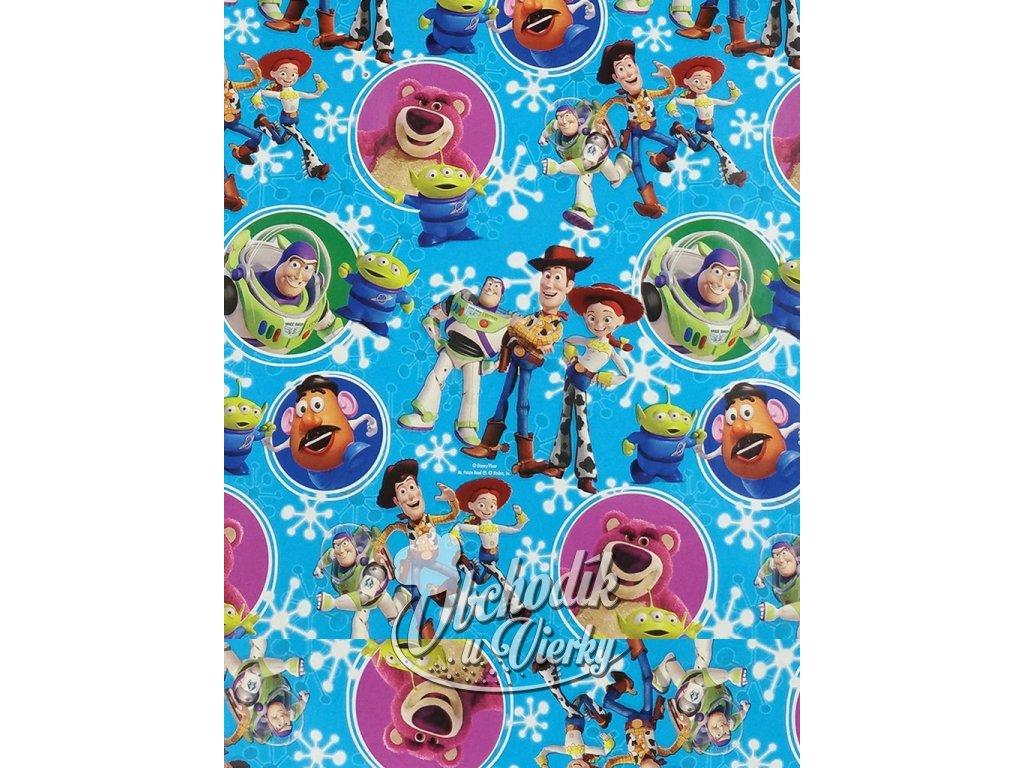 Darčekový baliaci papier Disney Toy Story