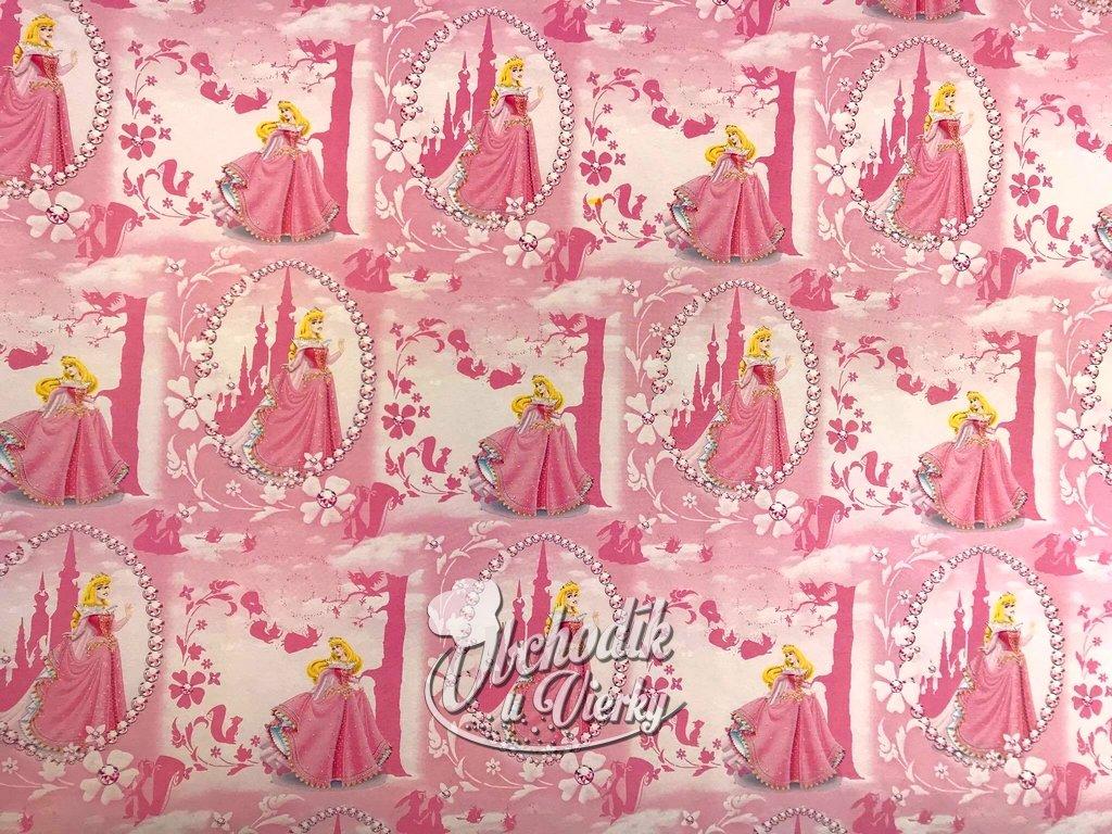 Darčekový baliaci papier Disney Šípková Ruženka