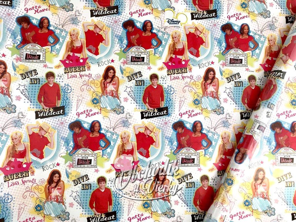 Darčekový baliaci papier High School Musical