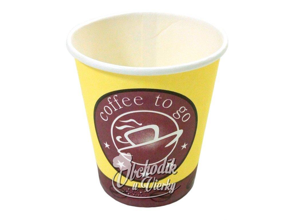 Pohár na kávu so sebou 0,15 l set 16 ks
