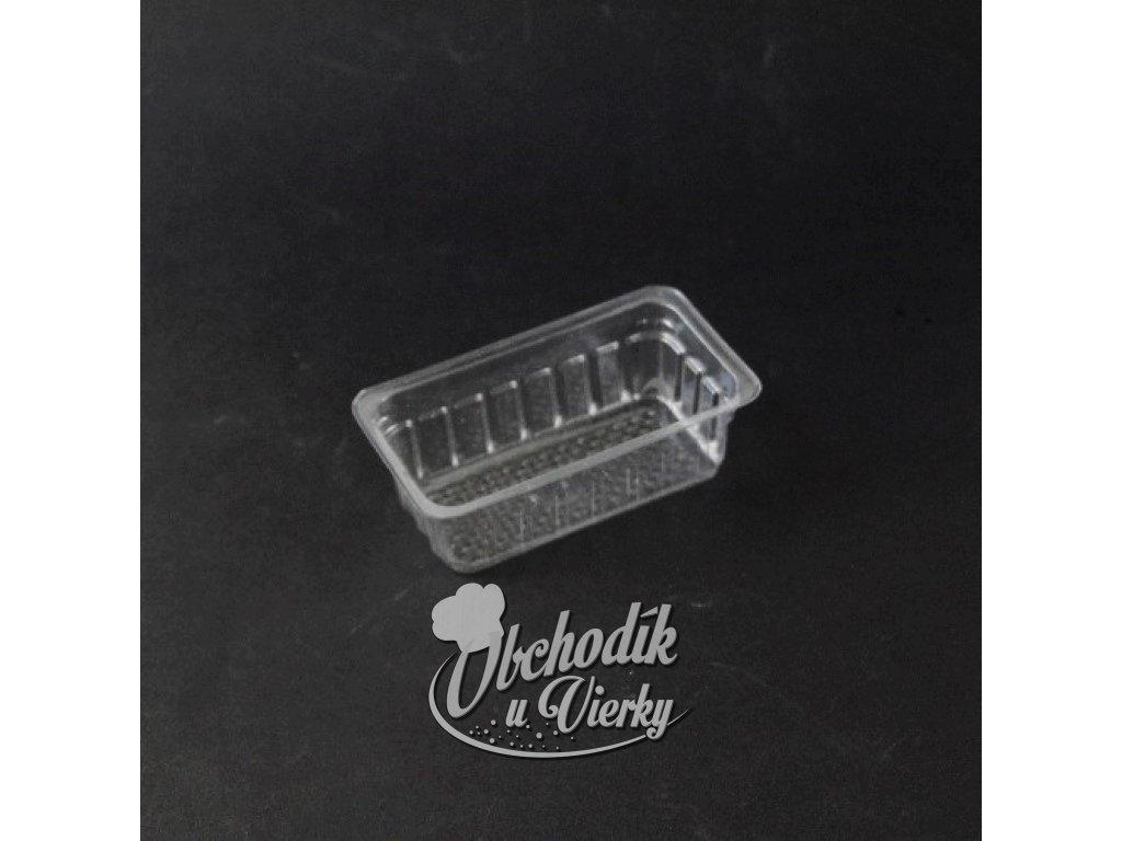 00848 Plastový obal obdĺžnik 6,5 x 11 x 4 cm