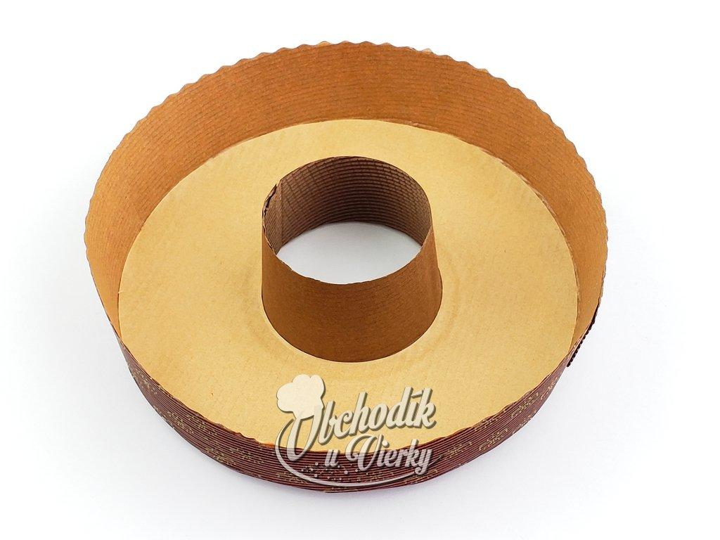 BÁBOVKA papierová forma na pečenie Ø 18,5/4 cm