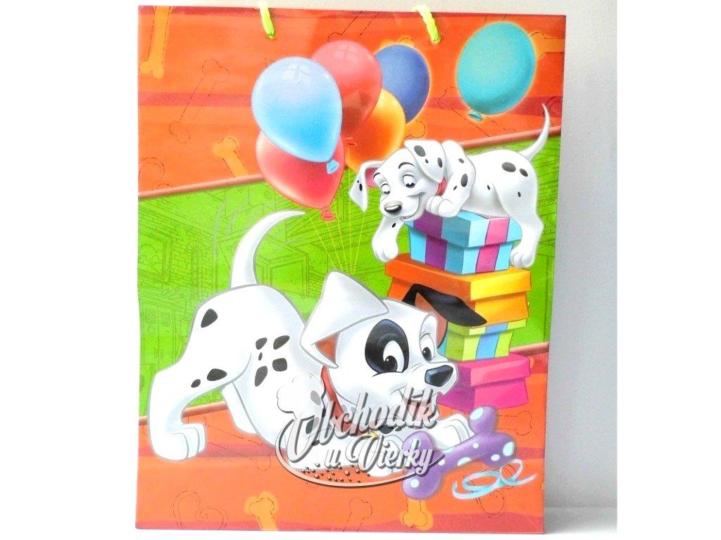 01335 Darčeková taška Disney dalmatínci 33x26,5x11,5cm