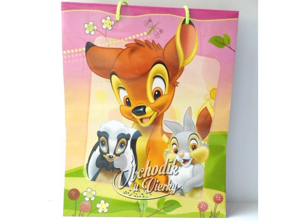 01340 Darčeková taška Disney Bambi 33x26,5x11,5cm