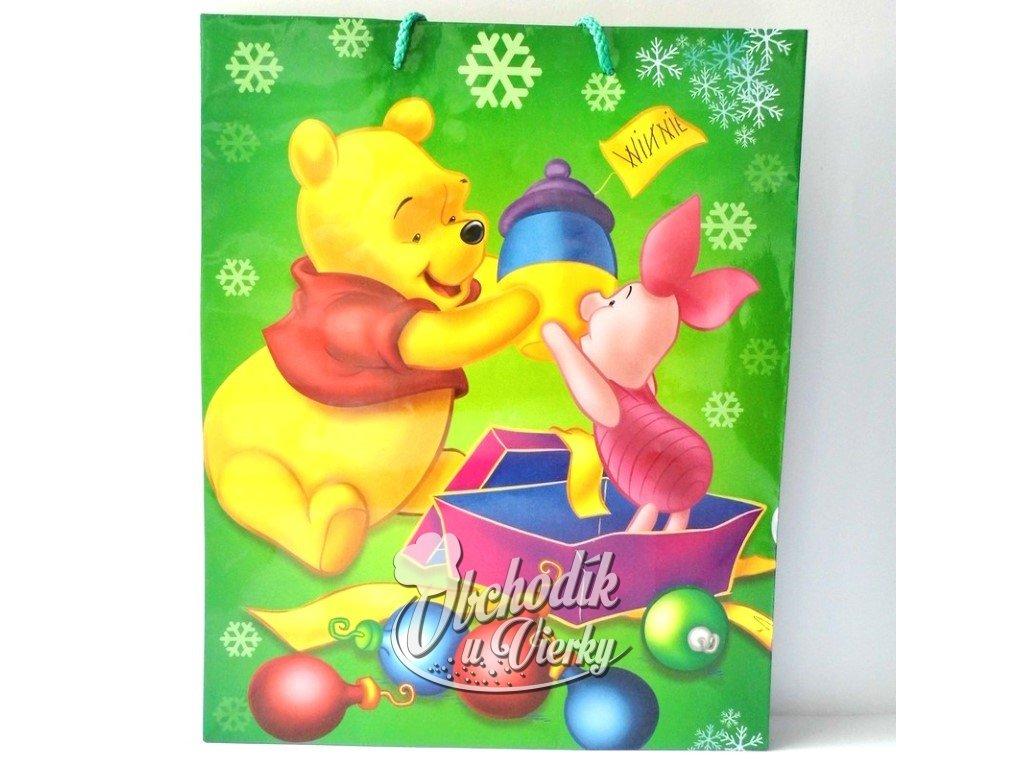 01349 Darčeková taška Disney Macko Pú a prasiatko 33x26,5x11,5cm