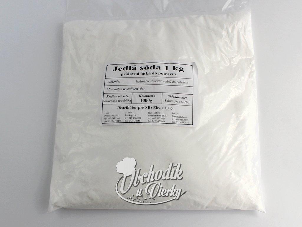 Jedlá sóda (sóda bikarbóna) 1 kg