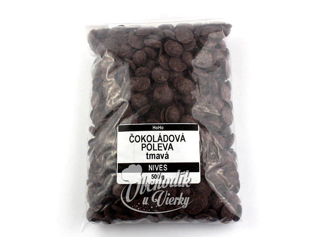 Čokoládová poleva tmavá NIVES 500g HoHo
