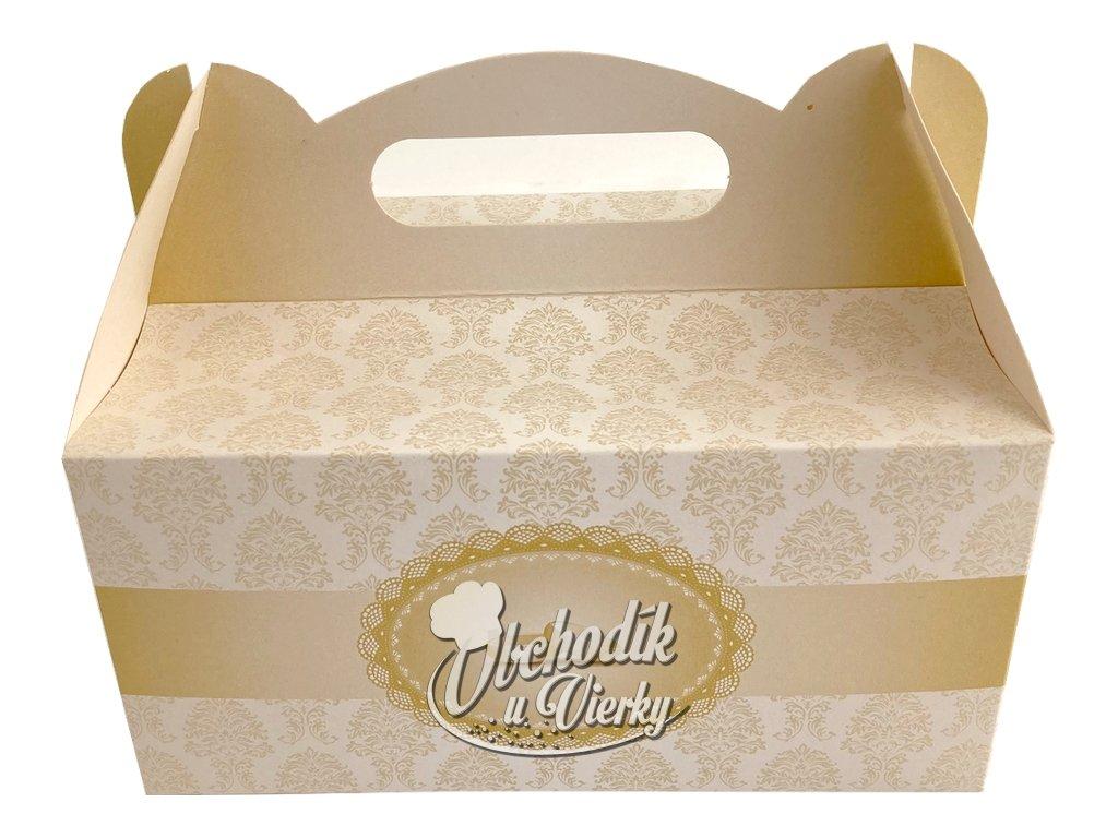Darčeková krabička svadobná s obrúčkami 19x14x9cm