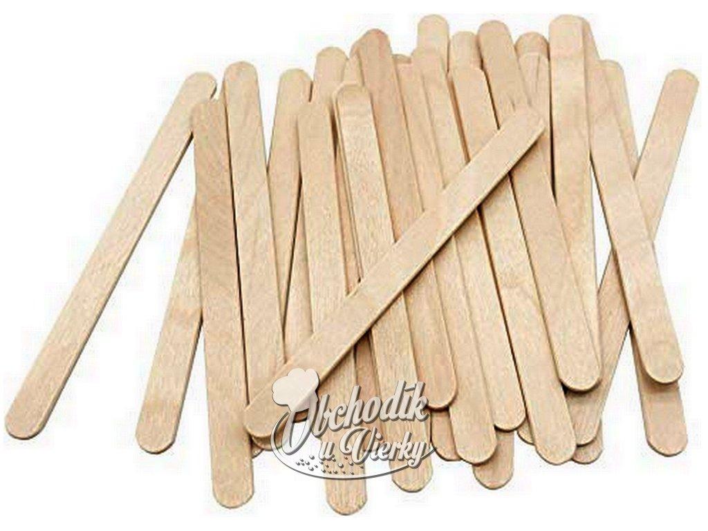 Drevené paličky na nanuky 11 cm, 50 ks